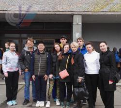 Кафедра ТиМ тенниса на кроссе памяти Бориса Галушкина 2016