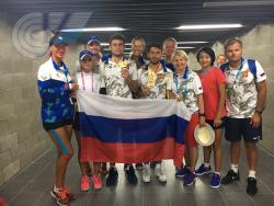 Третье место у теннисистов в общекомандном  зачете на Универсиаде в Тайпее!